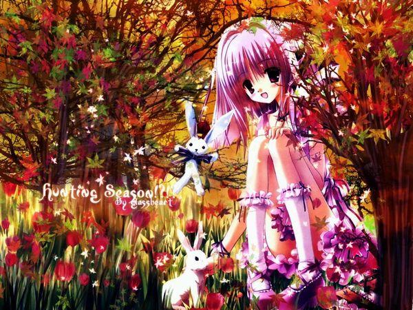 【紅葉】秋っぽい風景と美少女達の二次画像 【16】