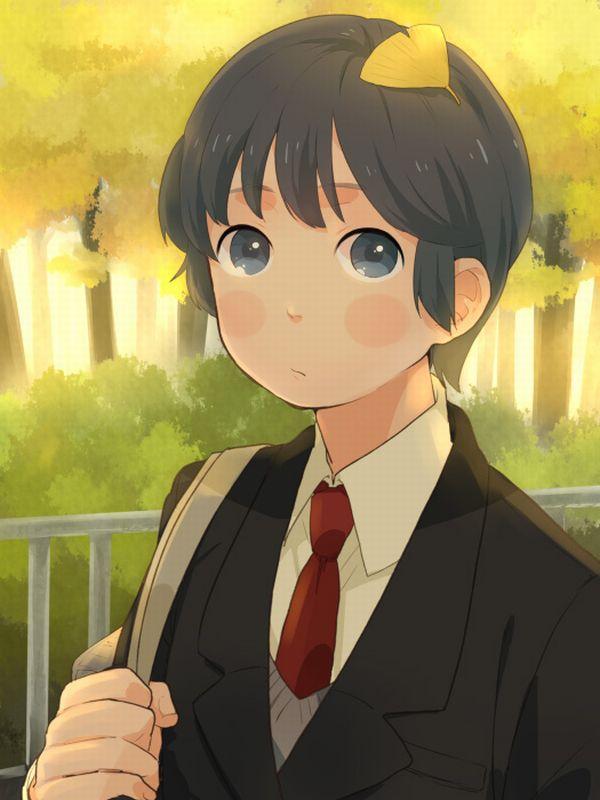 【紅葉】秋っぽい風景と美少女達の二次画像 【19】