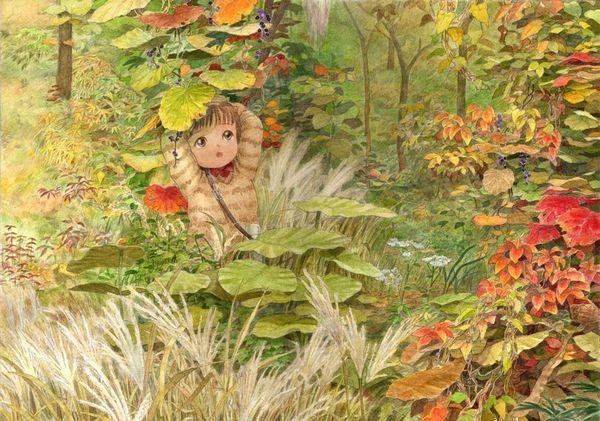 【紅葉】秋っぽい風景と美少女達の二次画像 【20】
