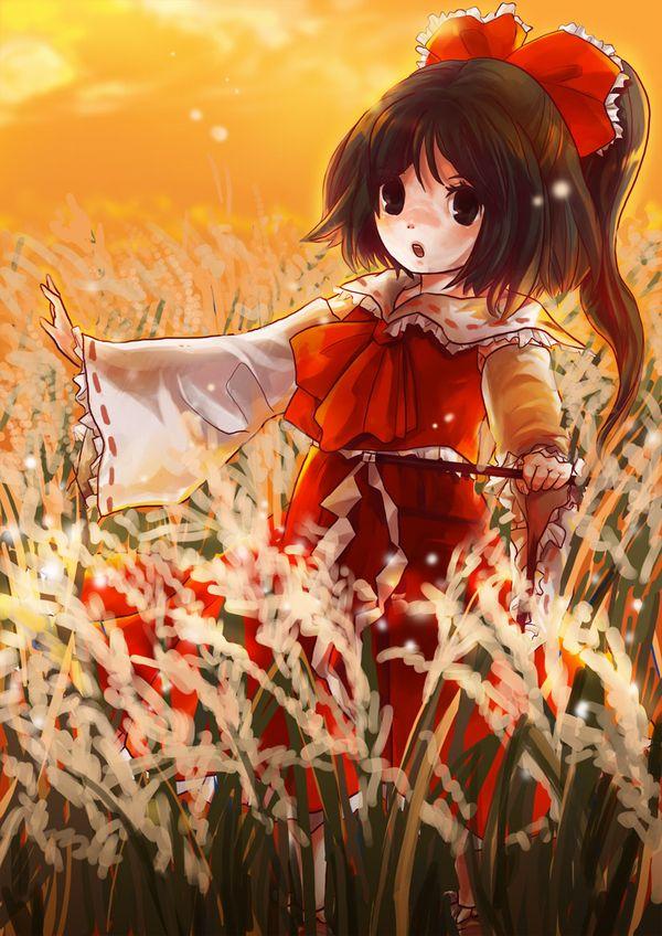 【紅葉】秋っぽい風景と美少女達の二次画像 【21】