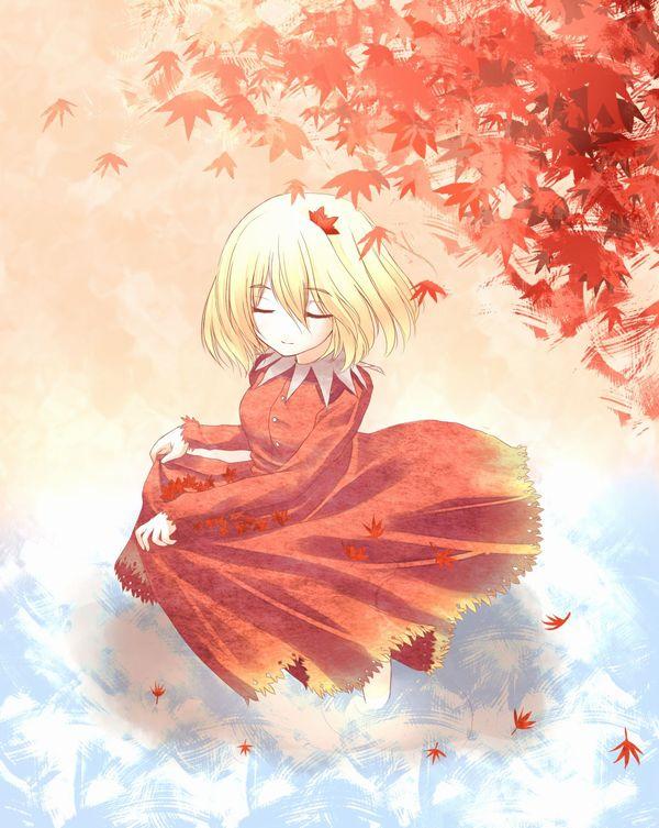 【紅葉】秋っぽい風景と美少女達の二次画像 【25】