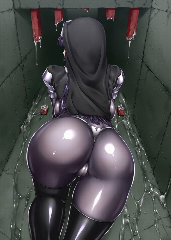【安産型】大きなお尻をしたグラマラス体系な二次エロ画像 【24】