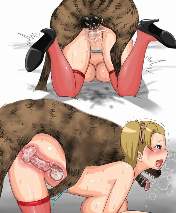 【今日のわんこ】「犬って本当に可愛いなあ」とほっこりする二次獣姦画像 【34】