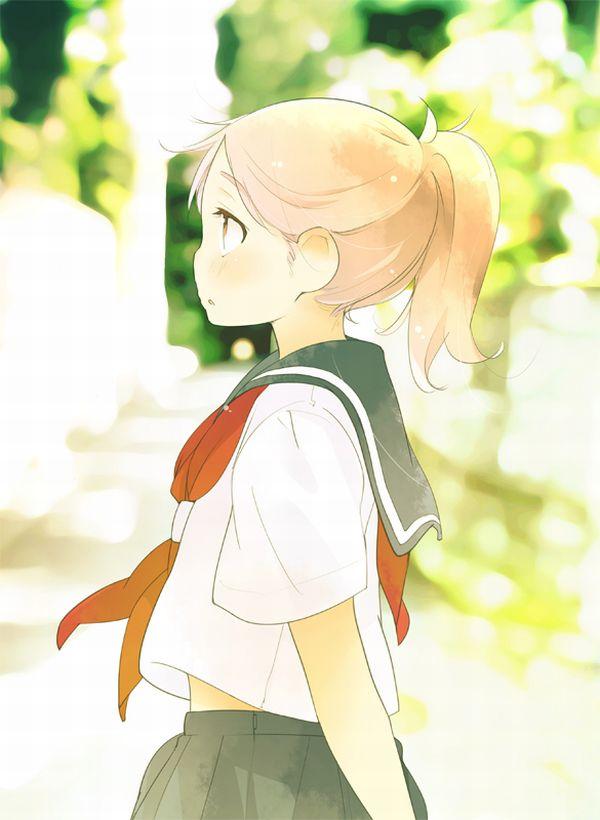 ポニーテールな女子高生の二次エロ画像 【16】