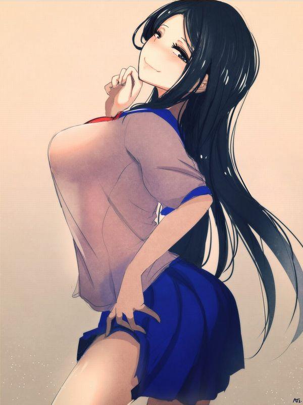 【さあ召し上がれ】スカートたくし上げて誘ってる二次エロ画像 【29】