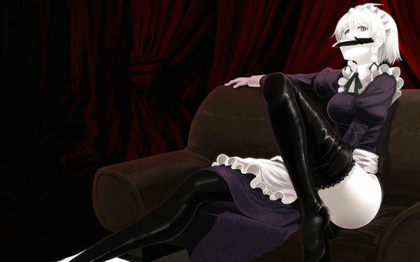 【生意気そう】妙に態度がデカそうなメイドの二次エロ画像 【16】
