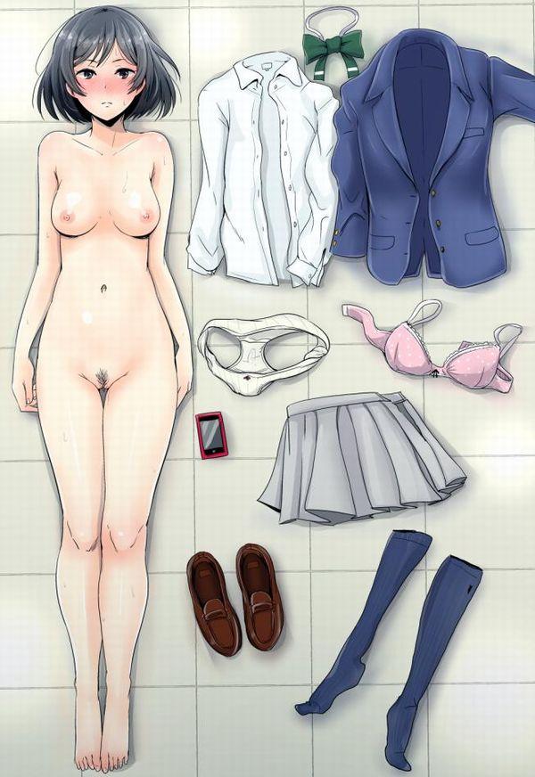 【現実】可愛い女子高生にだって陰毛は生えてるんだなあ・・・って二次エロ画像 【19】