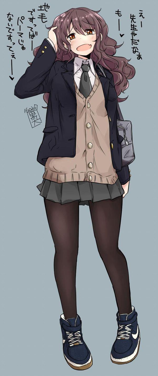 【防寒対策】タイツを履いたJKの二次画像 【25】