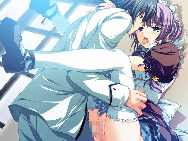 【涎】糸引きキスしてる二次エロ画像 【5】