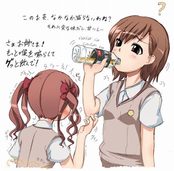 【意識高い系】健康の為かな?美味しそうにションベン飲んでる飲尿二次エロ画像 【16】