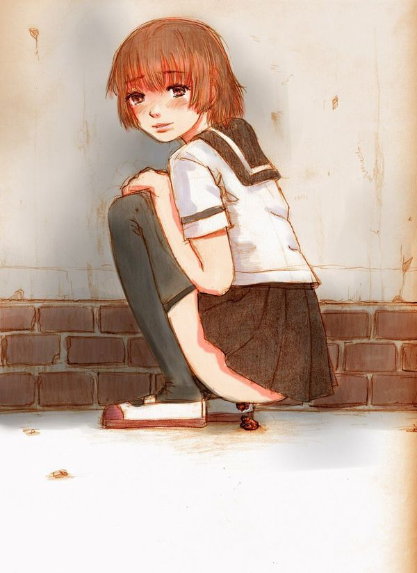 【現実を直視してみよう】女子高生がウンコしてる二次エロ画像 【38】