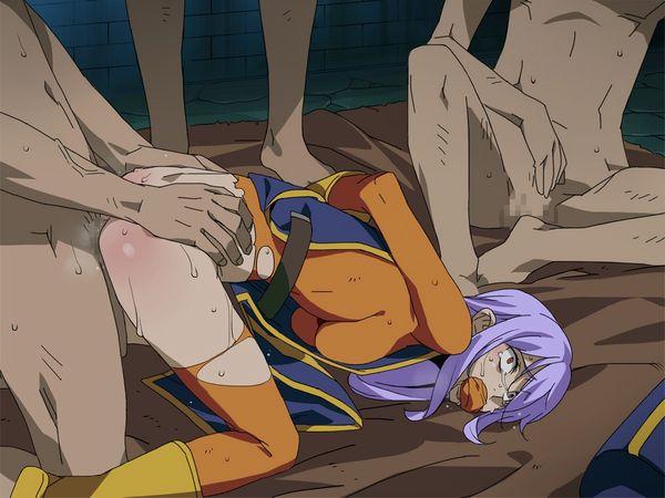 【心が痛む】泣きながら輪姦されてる可哀想な二次エロ画像 【40】