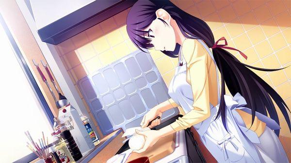【料理は愛情】料理を作っている最中な女の子達の二次画像 【10】