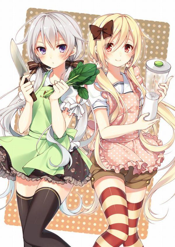 【料理は愛情】料理を作っている最中な女の子達の二次画像 【18】