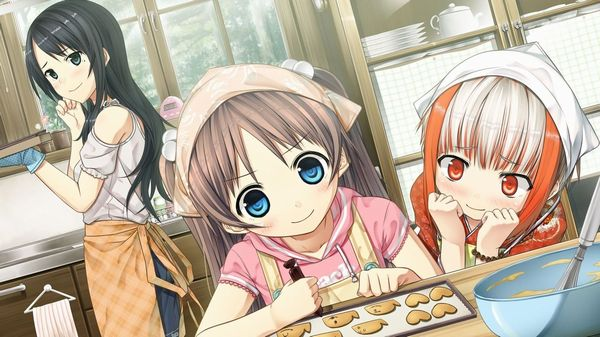 【料理は愛情】料理を作っている最中な女の子達の二次画像 【33】