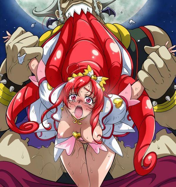 【ドキドキ!プリキュア】キュアエース・円亜久里(まどかあぐり)のエロ画像 【35】