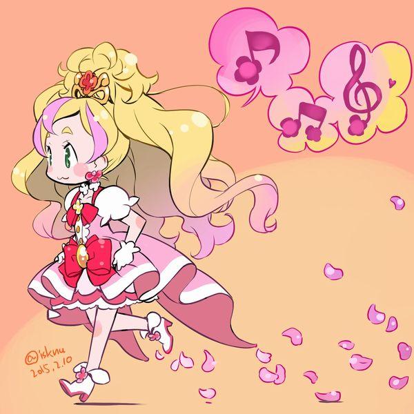 【Go!プリンセスプリキュア】キュアフローラ・春野はるか(はるのはるか)のエロ画像 【32】