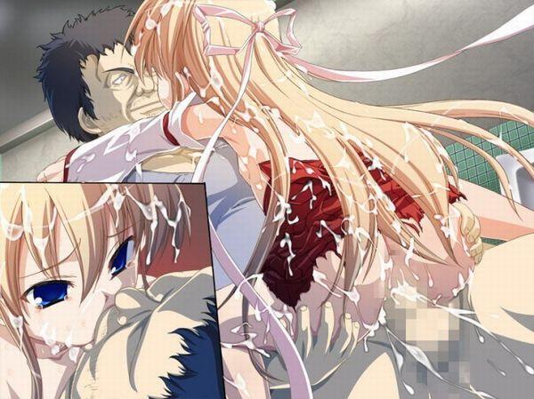 【泥水で口をゆすぎたい】無理矢理キスをされてる二次エロ画像 【6】
