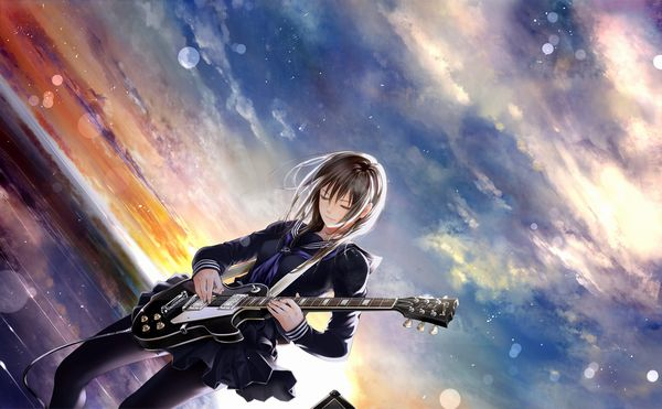 【ノリアキisリアル】ギターと女の子の二次画像 【29】