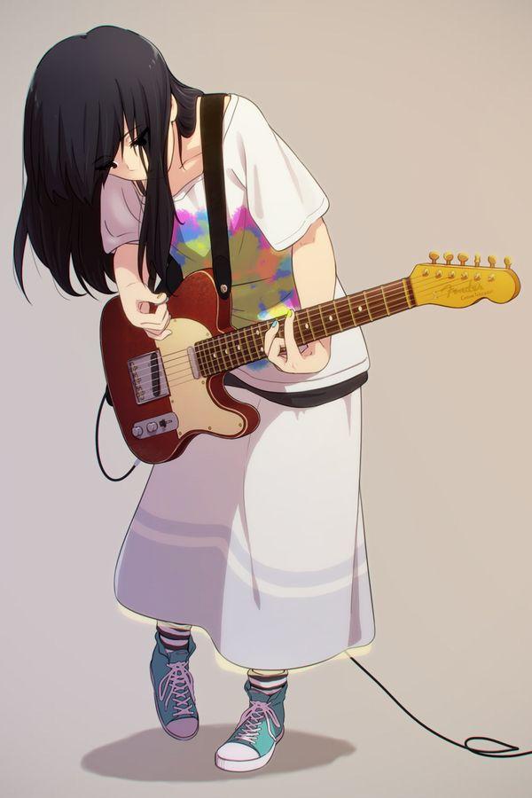 【ノリアキisリアル】ギターと女の子の二次画像 【34】
