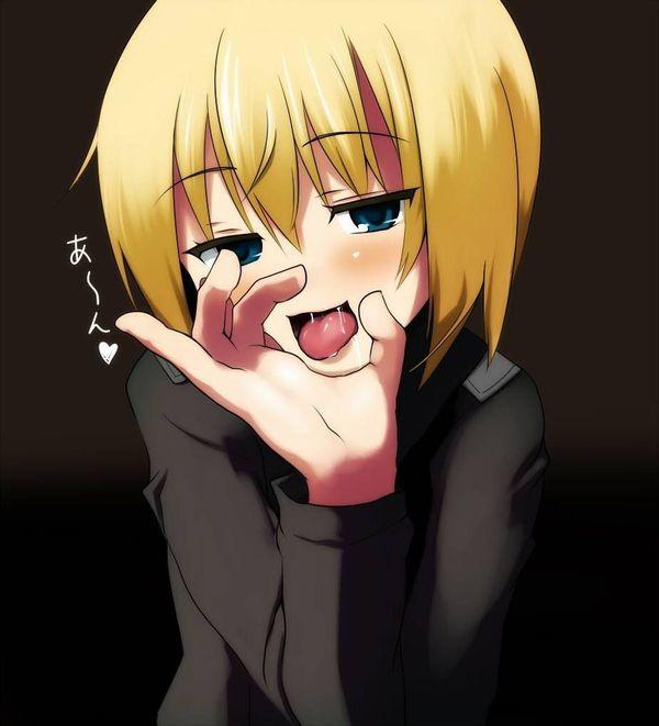 【欲しがり】舌出しておちんちん咥えたそうにしてる二次エロ画像 【4】