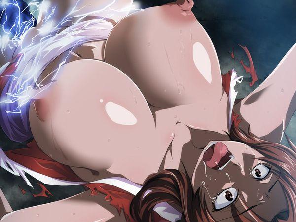 【電気ビリビリ】身体に電流を流されてる女子達の二次拷問・リョナ画像 【34】