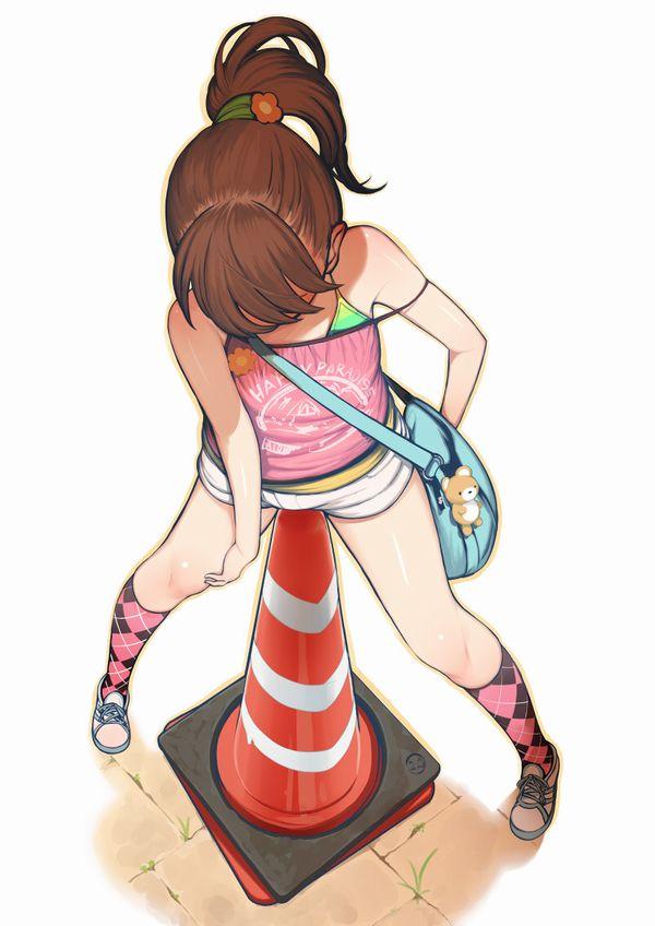 【思春期突入】JS位のロリ少女がオナニーしてる二次エロ画像 【34】