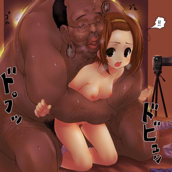 【キモ男】体重3ケタ確実にありそうなデブ男に犯されてる少女達の二次エロ画像 【1】