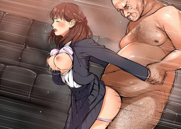 【キモ男】体重3ケタ確実にありそうなデブ男に犯されてる少女達の二次エロ画像 【10】