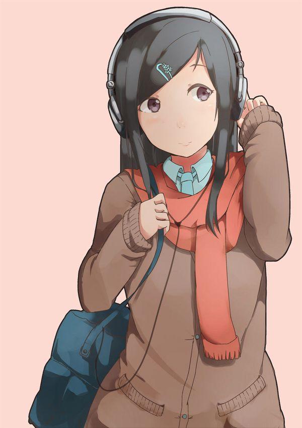 【防寒はバッチリ】冬に登下校する女子高生達の二次画像 【5】