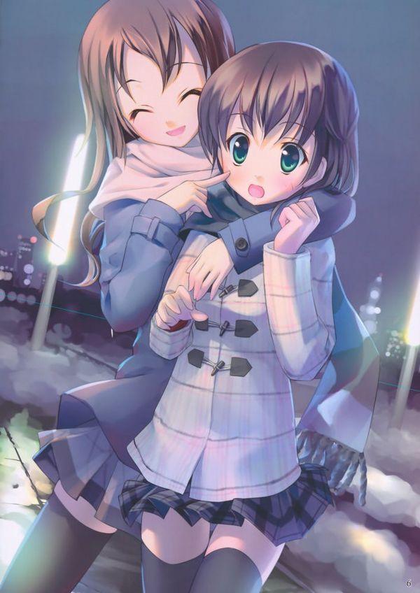 【防寒はバッチリ】冬に登下校する女子高生達の二次画像 【22】