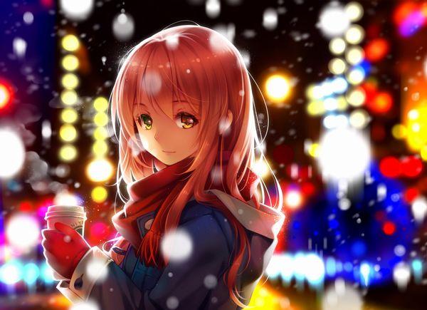 【防寒はバッチリ】冬に登下校する女子高生達の二次画像 【27】