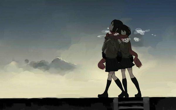 【防寒はバッチリ】冬に登下校する女子高生達の二次画像 【30】
