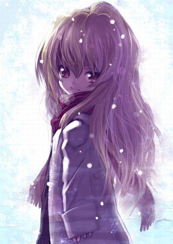 【防寒はバッチリ】冬に登下校する女子高生達の二次画像 【32】