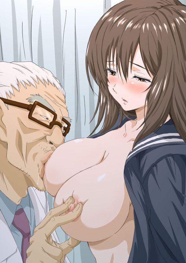 【ギャルの生乳うめぇ~】美味しそうに巨乳を吸ってる二次エロ画像【ギチチ…】 【26】