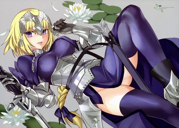 【Fate/Grand Order】ジャンヌ・ダルク(ルーラー)のエロ画像 【27】