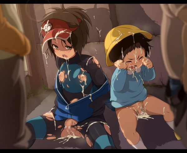 【ショタレイプ】無理矢理アナル犯されたりして涙目になってるショタっ子の二次エロ画像 【7】