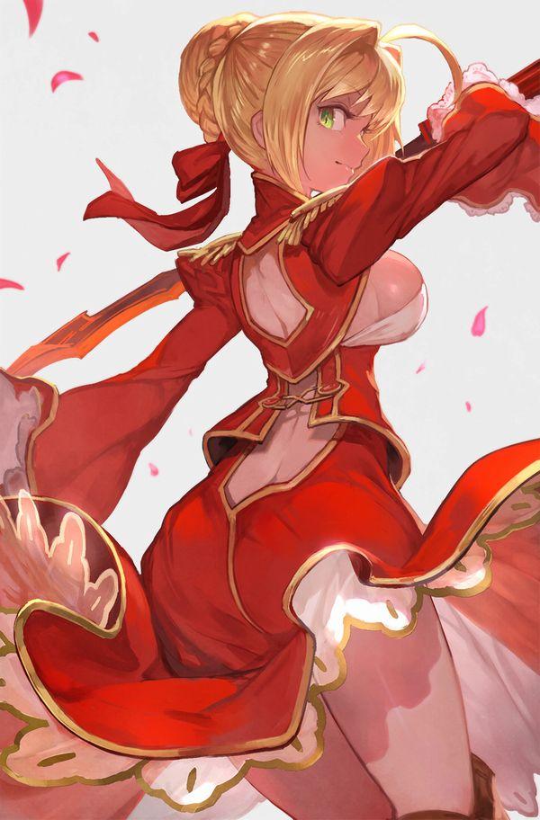 【Fate/Grand Order】ネロ・クラウディウス(赤セイバー)のエロ画像 【30】