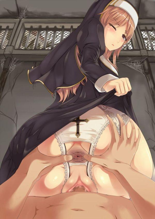 【あれ?】修道女(シスター)の二次エロ画像【処女じゃないよね?】 【9】