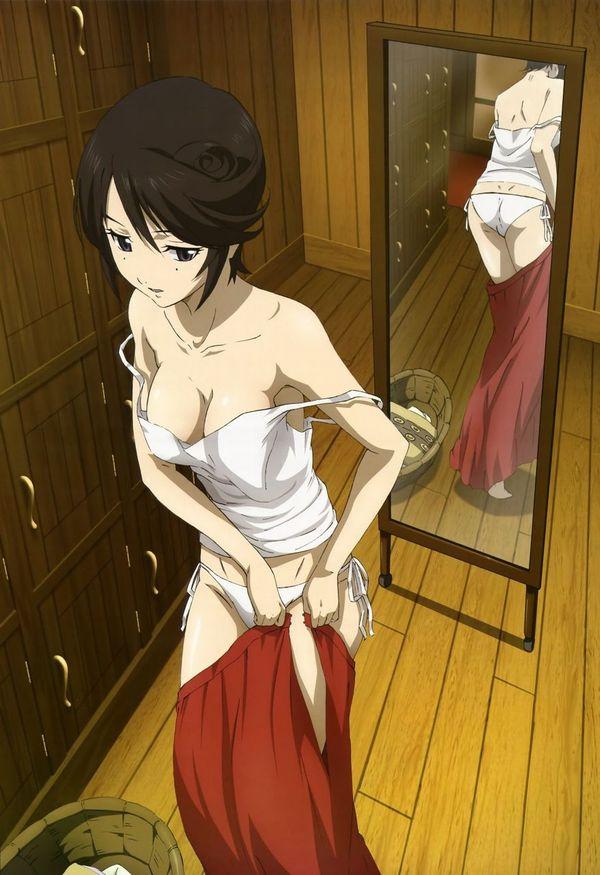 【着替え】スカート履いてるor脱いでる二次エロ画像 【36】