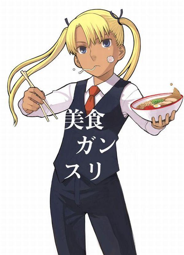 【寒い夜にはラーメン(至言)】ラーメン食べてる女の子達の二次画像【14】