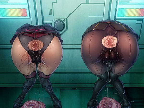 【ヤリ放題】壁からお尻だけ出してる二次エロ画像【14】