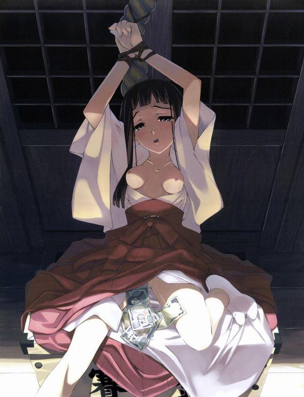 【謹賀新年】見てると初詣に行きたくなる巫女さんの二次エロ画像 【6】