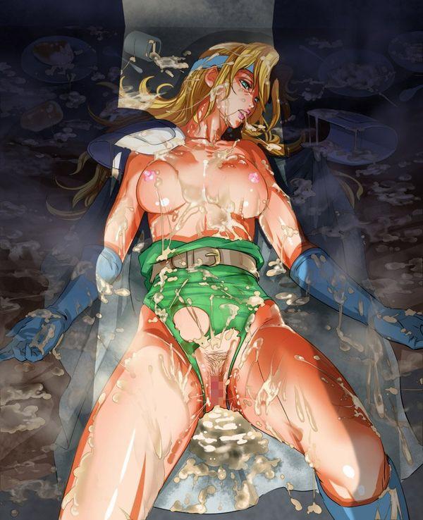 【胸が痛む】レイプされて無残な姿のまま放置されてる二次エロ画像 【26】