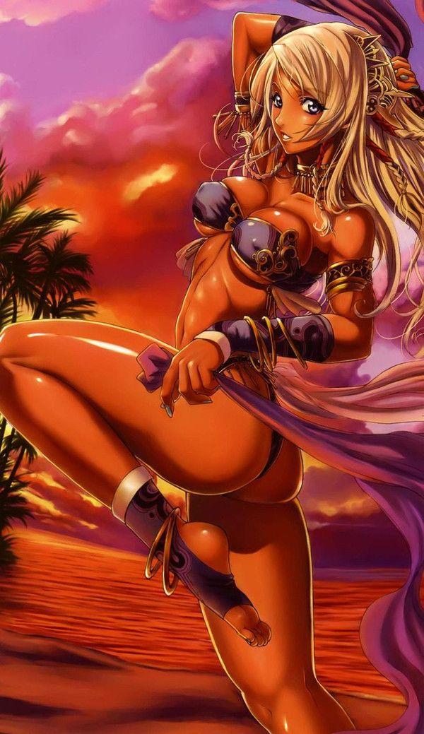 【ガリガリでは無い】肋骨・アバラ好きな方の為の健康的な脇腹二次エロ画像 【20】