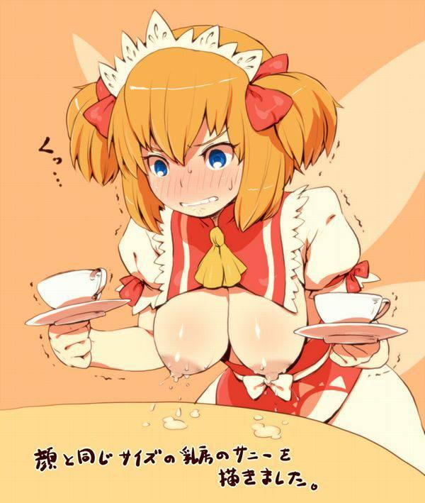 【ミルクが無かったから】母乳をコーヒーや紅茶に入れてる二次エロ画像 【31】