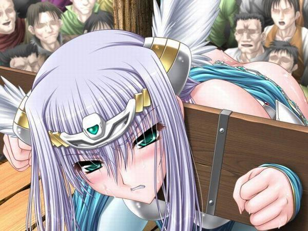 【中世あるある】公衆の面前で辱めを受ける女騎士・女剣士等の二次エロ画像 【37】