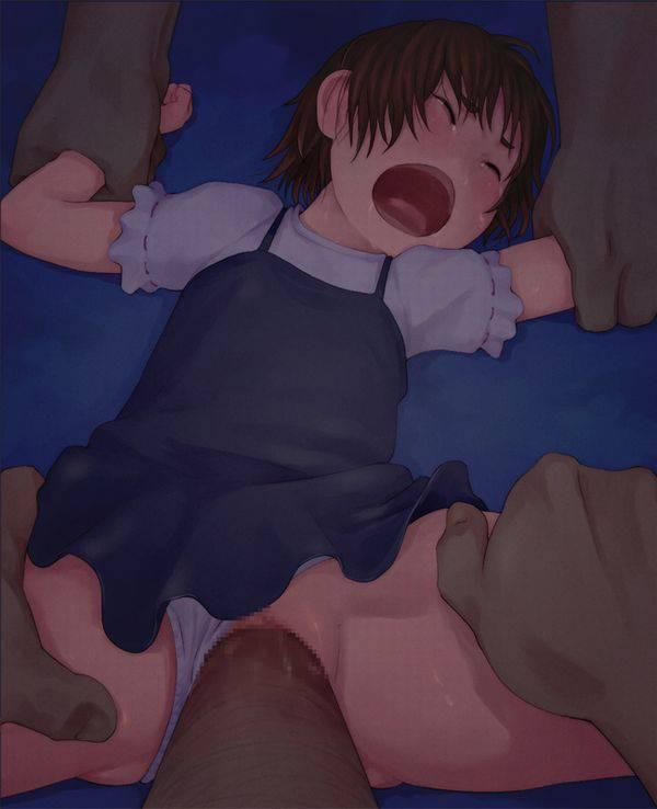 【ロリレイプ】悪戯目的で誘拐されてしまった少女達の二次エロ画像 【1】