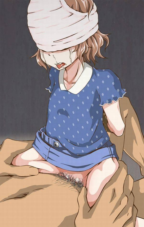 【ロリレイプ】悪戯目的で誘拐されてしまった少女達の二次エロ画像 【5】