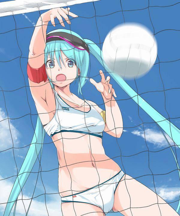 【スポーツ】運動中な女の子達の汗だく腋二次エロ画像 【30】